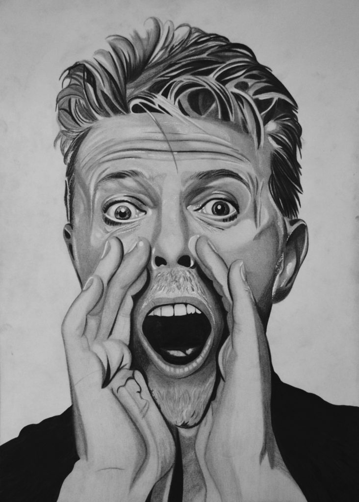 David Bowie in Black and White