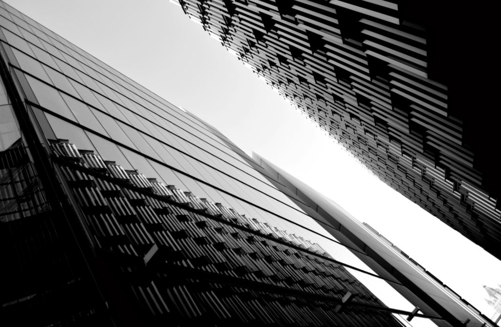 Slanted Structure Black and White